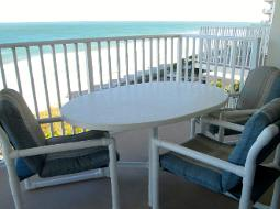 Ormond Beach Oceanfront Condo Balcony
