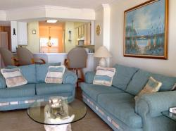 Ormond Beach Oceanfront Living Room