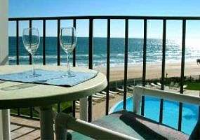 Ormond Beach Oceanfront Balcony